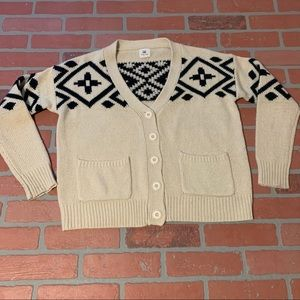 Cotton Candy Aztec Tribal Southwestern Cardigan